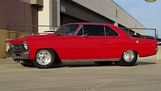 1967 Nova Twin Turbo for sale at Gateway Classic Cars STL