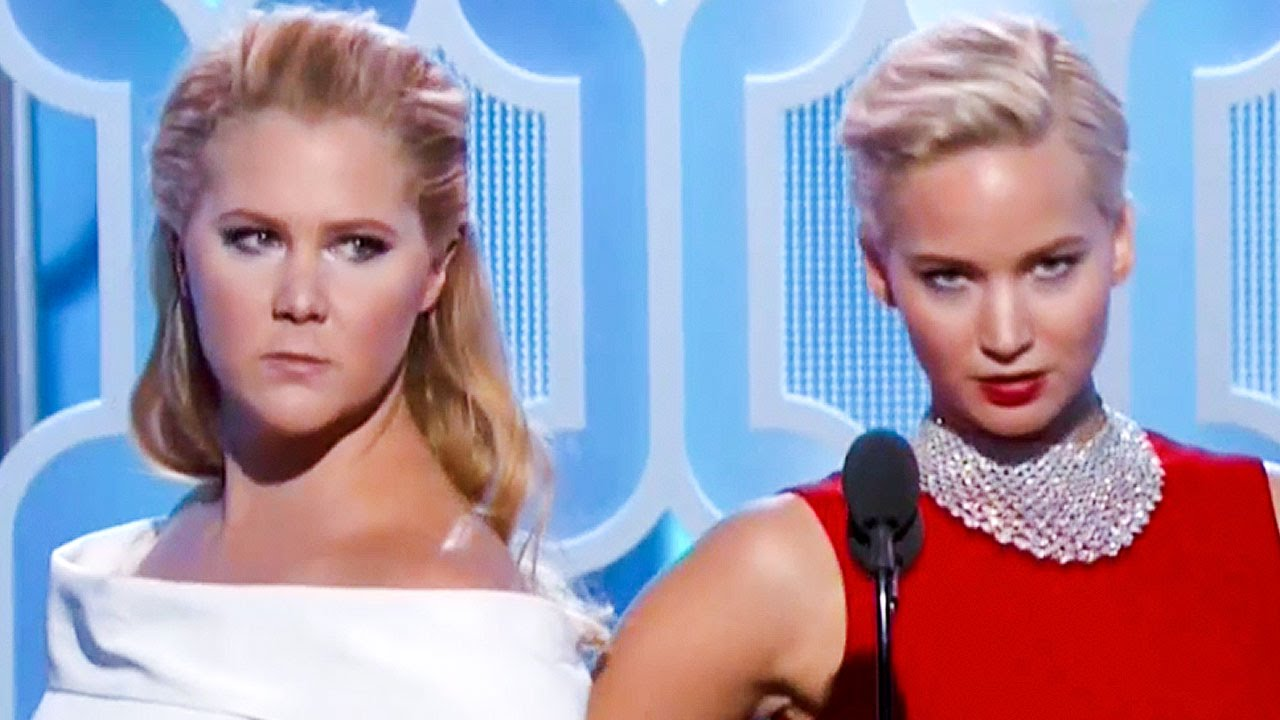 Bffs Jennifer Lawrence Amp Amy Schumer Hilarious At Golden
