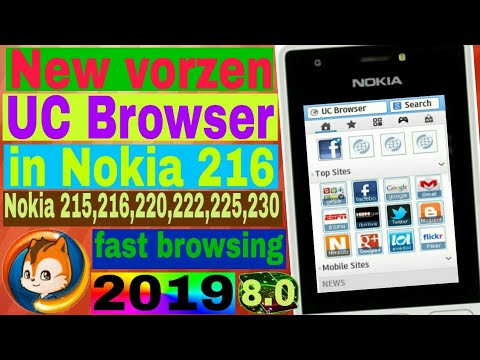 #Technicalshivamji  How to install uc browser 8.0 in Nokia 216(nokia phones) in Hindi