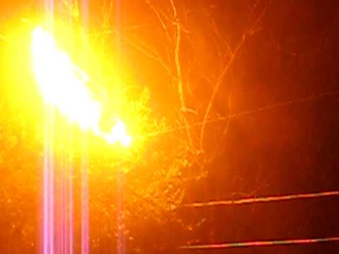 tree + power lines = fire