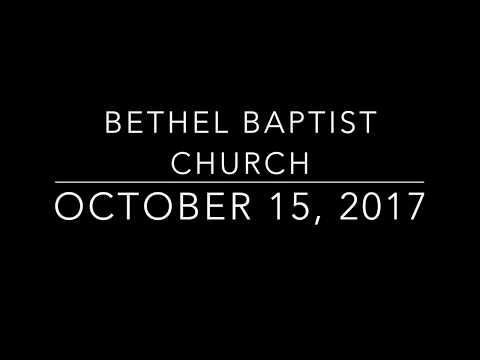 Bethel Baptist Church - Pastor Appreciation Day