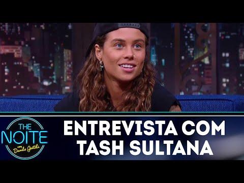 Entrevista com Tash Sultana   The Noite (20/04/18)