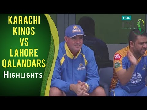 PSL 2017 Match 18: Karachi Kings vs Lahore Qalandars Highlights thumbnail