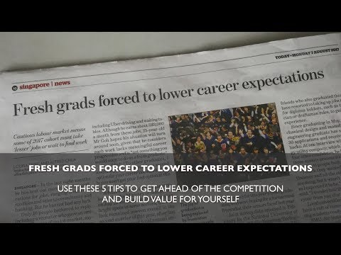 Fresh Grads Forced to Lower Career Expectations? Follow These 5 Tips to Get Ahead of the Competition
