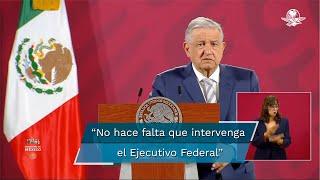 El presidente Andrés Manuel López Obrador confió en que la SCJN resuelva en favor su petición y la de los ciudadanos para que se lleve a cabo una consulta popular sobre el tema