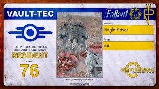 Let's Play Fallout 76   Single Player #64 Mit dem Impro-Revolver gegen Mirelurks