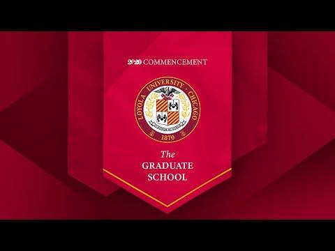 The Graduate School: 2020 Commencement