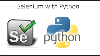 Selenium Webdriver Tutorials with Python