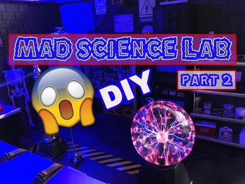 DIY Barbie Mad Science Lab - Part 2 - Furniture and Equipment