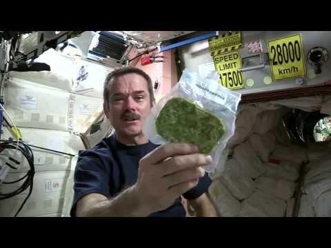 克里斯的太空廚房:菠菜