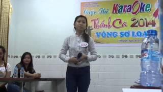 Khúc Cảm Tạ - Thùy Trang (Vòng loại karaoke Thánh Ca 2014)