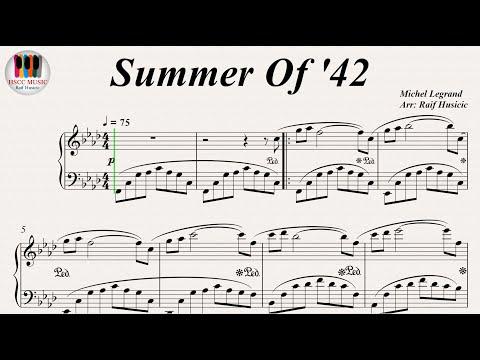 Summer Of '42 - Michel Legrand, Piano
