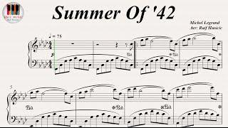 Video Summer Of '42 - Michel Legrand, Piano download MP3, 3GP, MP4, WEBM, AVI, FLV September 2018