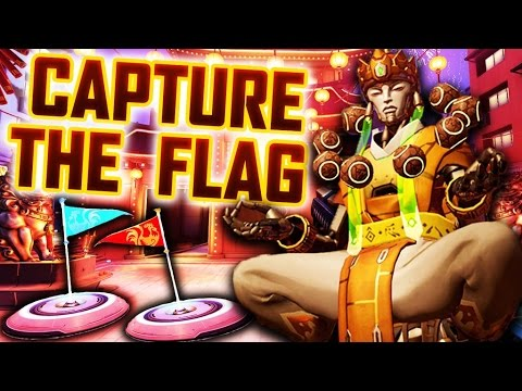 *NEW* OVERWATCH CAPTURE THE FLAG GAMEPLAY