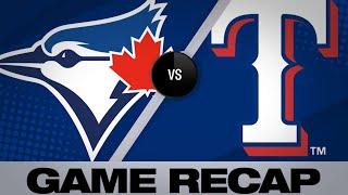 TOR@TEX: Cabrera, Odor power Rangers to 10-2 victory