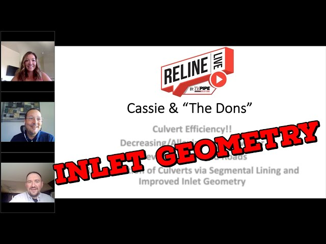 Reline LIVE: Inlet Geometry with Don LeBlanc and Don McGriff