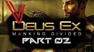 Let's Play Deus Ex: Mankind Divided part 2 – Hotel Tour