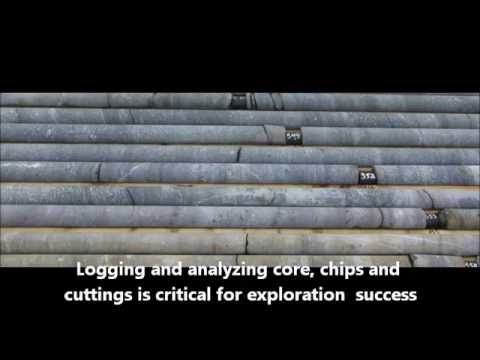 Mineral identification and core logging with oreXpress spectrometer