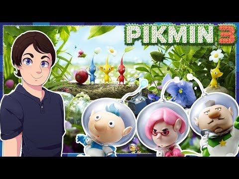 Pikmin 2 Vs Pikmin 3 Youtube