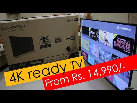 CloudWalker Cloud TV X2 55 inch, 50 inch and 32 inch 4K Ready Smart TV - from Rs. 14,990
