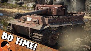 War Thunder - Tiger H1 Roadblock