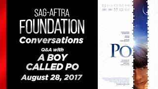 Conversations with A BOY CALLED PO