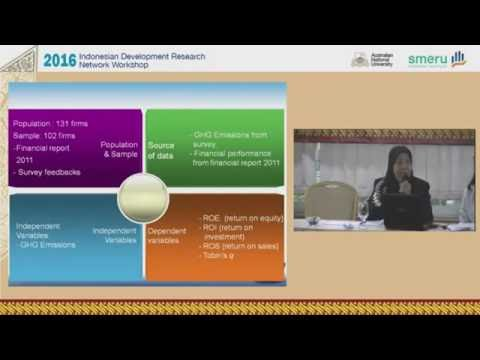 2016 Indonesian Development Research Network (IDRN) Workshop | Part 4