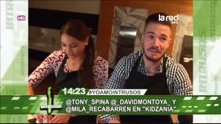 Las aventuras de Tony Spina, Camila Recabarren y David Montoya