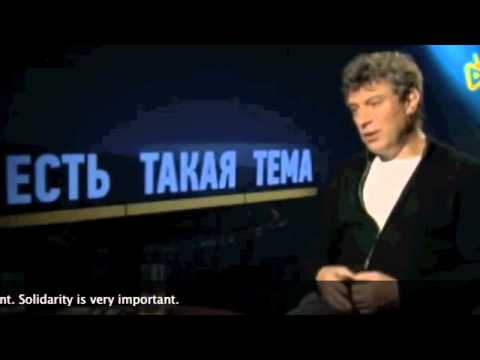 Boris Nemtsov on Solidarity with Radio Liberty Journalists in Russia