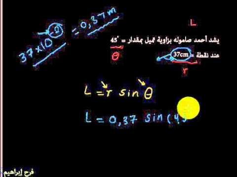 حل مسائل الفيزياء ثاني ثانوي ليبيا