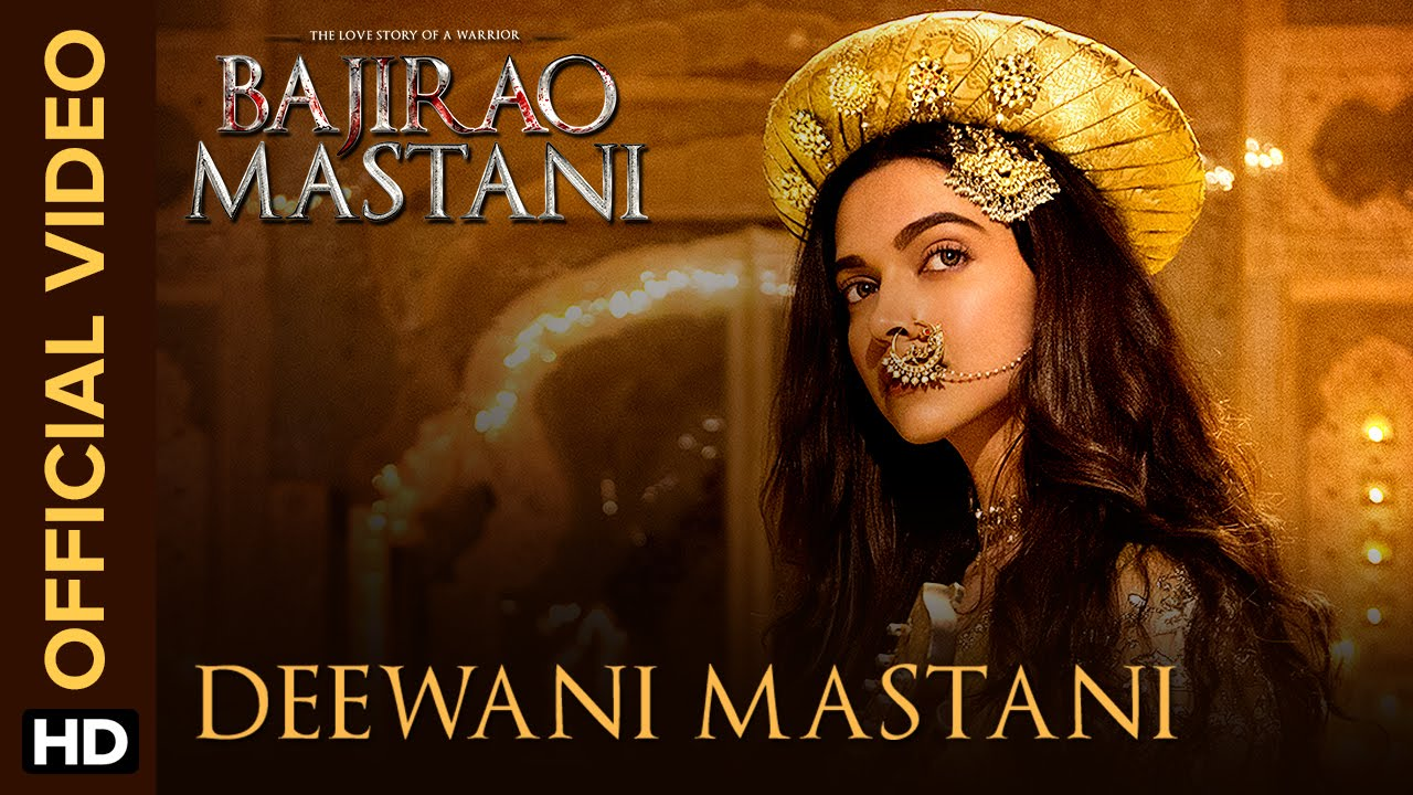 画像: Deewani Mastani | Official Video Song | Bajirao Mastani | Deepika Padukone, Ranveer Singh, Priyanka youtu.be