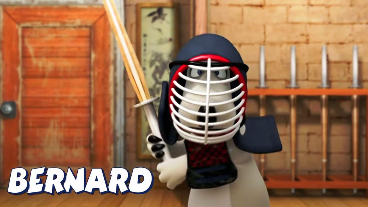 Bernard Bear   SWORD fighting AND MORE   Cartoons for Children
