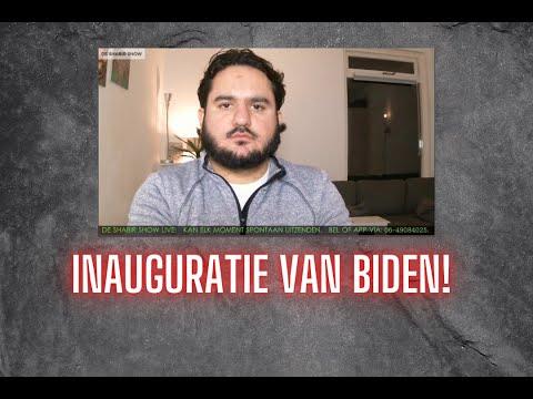 ONZE EXPERT SHABIR BURHANI BESPREEKT DE INAUGURATIE VAN BIDEN ALS PRESIDENT VAN AMERIKA VANDAAG!