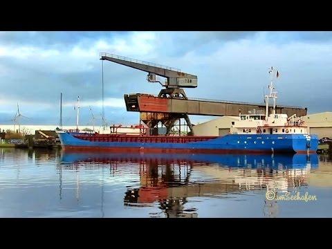 coaster ALAND DFTY IMO 9147459 Emden cargo seaship merchant vessel KüMo