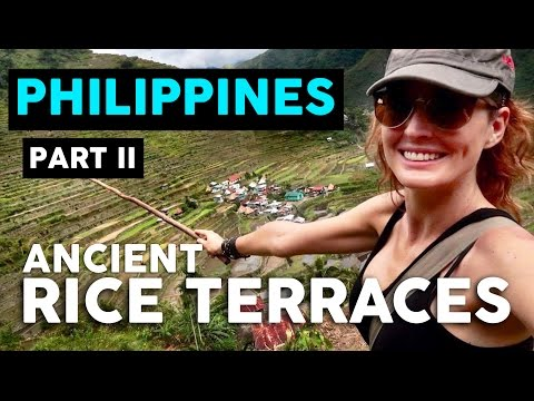 THE BANAUE RICE TERRACES // PHILIPPINES TRAVEL VLOG - Part II