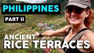 THE BANAUE RICE TERRACES // PHILIPPINES TRAVEL VLOG - Part II