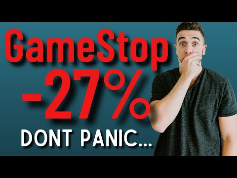 GameStop: Why The Stock Dropped & Why I'm Still Holding 💎🙌