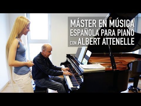 Spanish Piano Music with Albert Attenelle - Liceu Conservatory