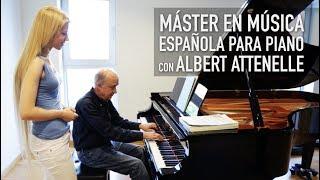 Música Espanyola per a piano amb Albert Attenelle - Conservatori del Liceu