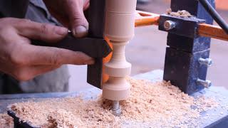 Самодельный токарный станок по дереву своими руками.Часть2.Homemade Wood Lathe(Это видео для тех кто хочет сделать самодельный токарный станок по дереву своими руками.Изготовление допол..., 2015-02-27T14:32:00.000Z)