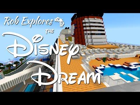 Disney Dream Cruise Ship on MC Magic!