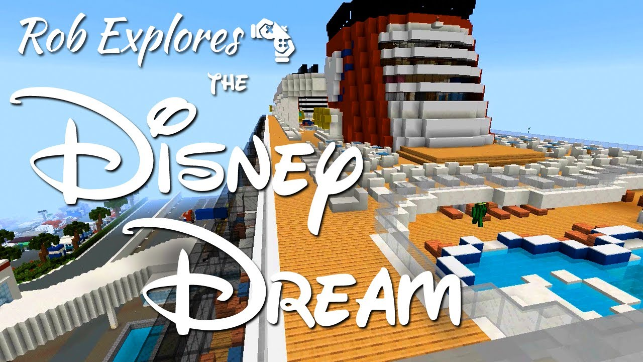 Disney Dream Cruise Ship On MC Magic YouTube - Cruise ship building games