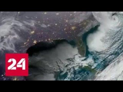 Американцы борются с аномальными холодами и снегопадами - Россия 24