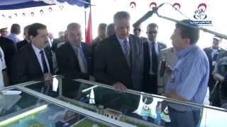 زيارة الوزير الأول عبد المالك سلال إلى ولاية النعامة