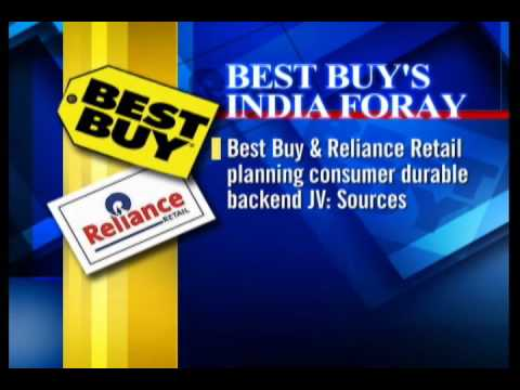 Best Buy in JV talks with Rel Retail to enter India