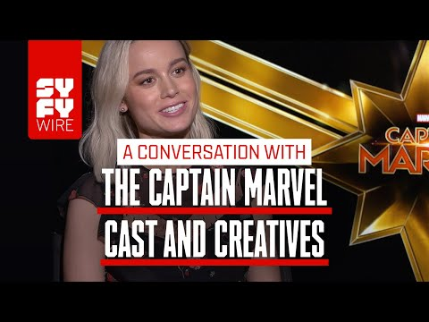 Captain Marvel's Brie Larson On Why Marvel Is Brilliant | SYFY WIRE
