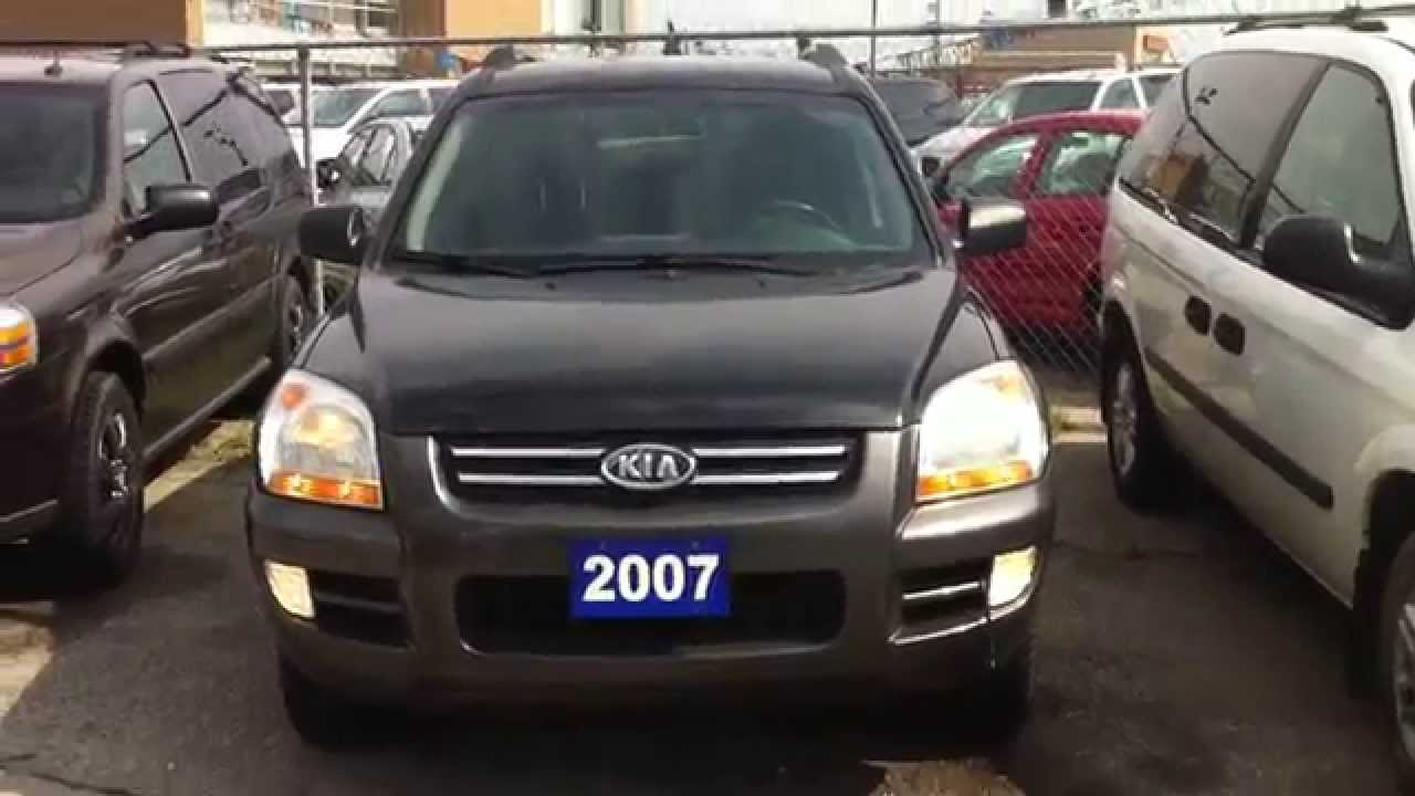 2007 Kia Sportage Lx V6 4wd Startup Engine In Depth Tour