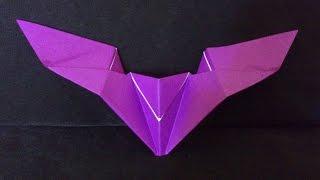 Cara Membuat Origami Kelelawar Sederhana | Origami Binatang
