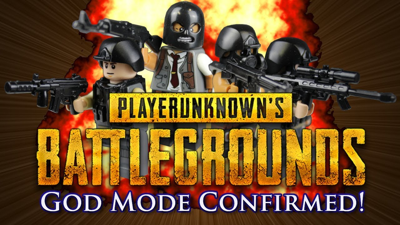 Pubg S Custom Mode Is Free For Now: Lego PUBG (Playerunknown's Battlegrounds): God Mode