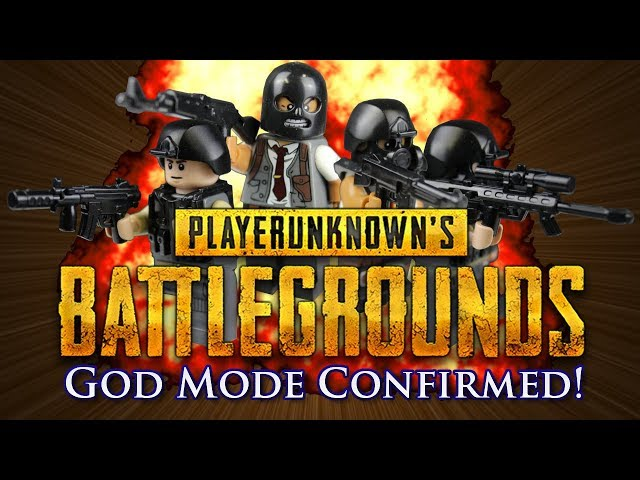 Lego PUBG (Playerunknowns Battlegrounds): God Mode Confirmed With The Pan!